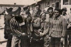 Francisco Ortiz, el 5 de mayo de 1945, tras la liberación de Mauthausen. CORTESÍA DE JUAN FRANCISCO ORTIZ