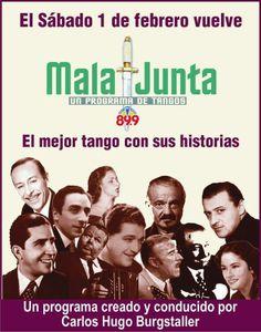 Vuelve Mala Junta - Un programa de tangos