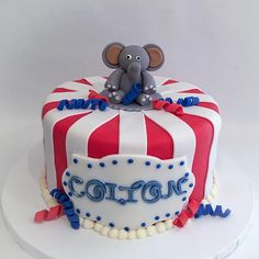 A Castro Valley Bakery and Event Planning Business serving the California Bay Area baking cupcakes, custom designed cakes and sweet treats for every occasion. Circus Theme Cakes, Themed Cakes, Valley Bakery, Fondant Elephant, Event Planning Business, Baking Cupcakes, Sweet Treats, Parties, Cute