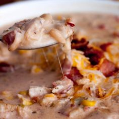 Image for Jalapeno Popper Chicken Chili