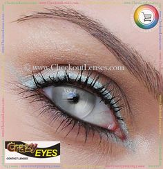 Soo want these for Halloween! And for scaring away door-to-door salespeople :) White Zombie Crazy Contact Lenses - Checkout Lenses Cool Contacts, Green Contacts Lenses, Colored Contacts, Eye Contacts, Lenses Eye, Special Effect Contact Lenses, Black Contact Lenses, Halloween Contacts, Halloween Makeup