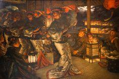 James Tissot, Suite de l'enfant prodigue : En pays étranger, vers 1880, Musée des Beaux-Arts de Nantes