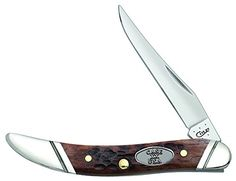 Case Cutlery CA27114 Tiny Toothpick Brown Jigged 610096SS Pattern Hunting Knives >>> For more information, visit image link.