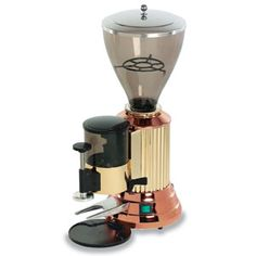 Elektra MXP Commercial Espresso Grinder - automatic, copper & brass & stainless steel
