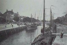 De Noorderhaven gezien naar de Grote Sluis