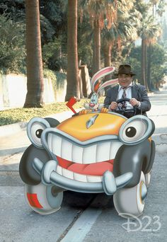 """Who Framed Roger Rabbit,"" a collaboration between ILM and Disney."