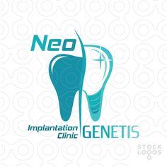 Logo personalizável Exclusiva Venda: Neo Genetis | StockLogos.com