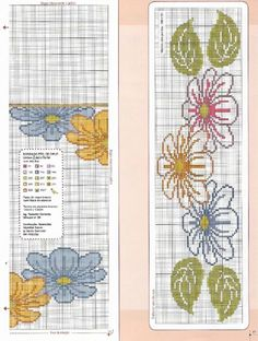 Gallery.ru / Фото #17 - Ponto cruz & crochê Nº54 - Chispitas Cross Stitch Rose, Cross Stitch Flowers, Embroidery Patterns, Cross Stitch Patterns, Baby Patterns, Needlepoint, Crochet Baby, Diy And Crafts, Projects To Try