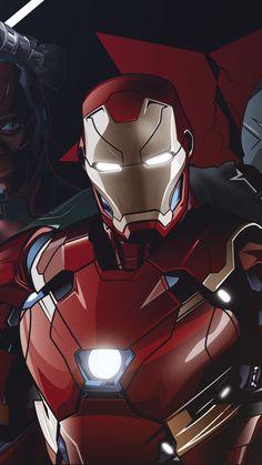 Avengers, marvel superheroes, team, artwork, wallpaper - My Wallpaper Marvel Comics, Marvel Comic Universe, Marvel Art, Marvel Heroes, Iron Man Wallpaper, Team Wallpaper, Iron Man Art, Avengers Wallpaper, Iron Man Tony Stark