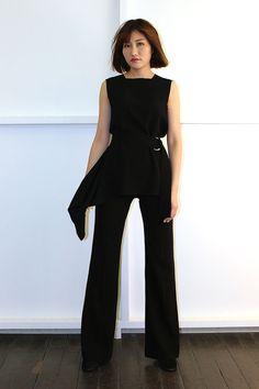 Andrea Yasmin- Calvin Top AW16 Jumpsuit, Tops, Dresses, Fashion, Overalls, Vestidos, Moda, Fashion Styles, Jumpsuits