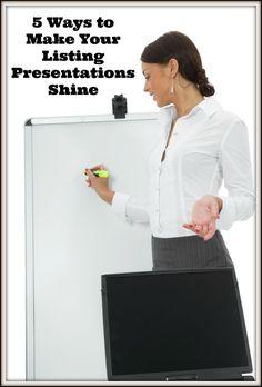 The Best Listing Presentation The Ben Kinney Listing Presentation - Awesome the ultimate listing presentation concept