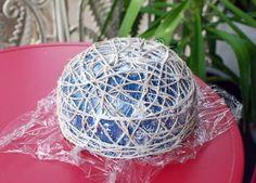 Cómo hacer una cesta con cuerdas paso a paso ~ lodijoella