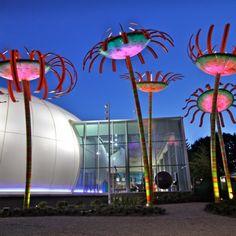 Sonic Bloom to kolorowa instalacja artysty Dana Corsona zaprezentowana w Seattle (USA). Ogromne kwiaty są zasilane energią słoneczną i mają za zadanie promować lokalny program związany z ekologią i zachowaniami proekologicznymi. http://www.sztuka-krajobrazu.pl/523/slajdy/przestrzen-publiczna-ze-swiatla-i-dzwieku