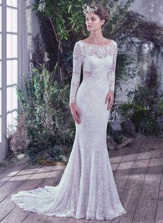 Maggie Bridal By Sottero Mavis 6mw777 Prado Chattanooga Tn Wedding Dressessheath