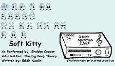 Soft Kitty - The Big Bang Theory