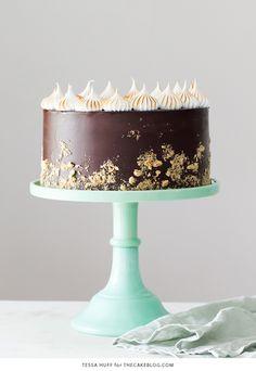 Smores Cake - smor
