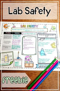 Safety rules and concepts with your elementary and middle school kids using Lab Safety Activities, Science Safety Rules, Lab Safety Rules, Science Resources, Science Lessons, Science Education, Physical Science, Science Activities, Science Labs