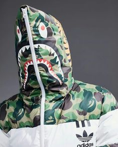 Another chance to cop the Bape x adidas NMD The Bape adidas NMD colorways will be releasing online again. Reebok, Bape Shark, Outfits Hombre, Bape Outfits, A Bathing Ape, Adidas Nmd, Mode Style, Streetwear Fashion, Man Style