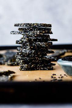 Black Sesame Brittle - Recipe