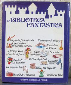 A.A. V.V. - La biblioteca fantastica - Gruppo Editoriale Fabbri - 1983