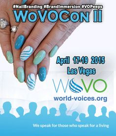 April 2015: WoVOCon II in Las Vegas!‪ For more info on World Voices Organization, please visit http://world-voices.org  #‎WoVO ‪#‎NailBranding‬ ‪#‎BrandImmersion‬ ‪#‎IbizaNails‬ ‪#‎PhilRocks‬