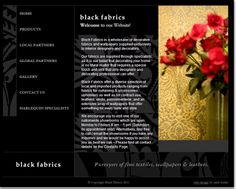 Interior and Exterior website design for Black fabrics Portfolio Web Design, Business Website, Black Fabric, Decorating Your Home, Interior And Exterior, Fabrics, Heart, Creative, Tejidos