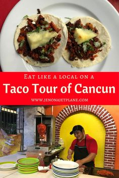 Experience Cancun like a local by going on a Taco Tour of the downtown area. Step away from the hotel room service and try authentic Mexican tacos with the help of a local guide, including tacos al pastor!