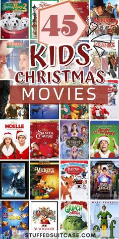 Christmas Movies For Kids & Teens + Printable Countdown Advent Calendar