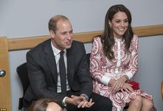 The royal visitors spent time speaking with staff at Sheway, where they learned about the ...