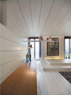 A unique attic space transformed in Madrid