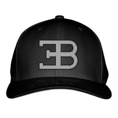 Bugatti Logo Embroidered Baseball Cap