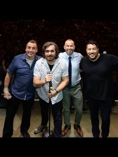 Joe, Q, Murr and Sal