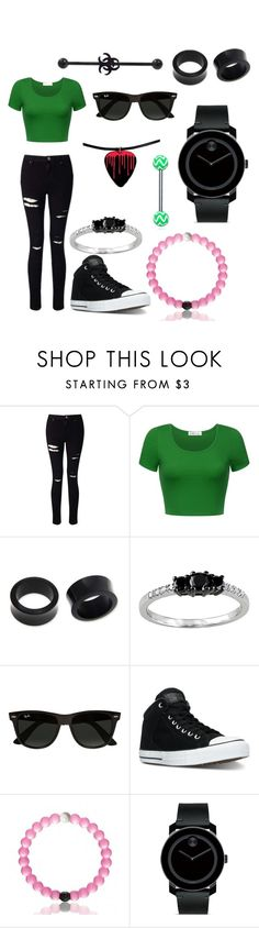 """""""...."""" by hayleyhudson62 on Polyvore featuring Miss Selfridge, NOVICA, Modern Bride, Ray-Ban, Converse, Everest and Movado"""