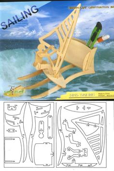 * Laser Cutter Projects, Cnc Projects, Scroll Saw Patterns, Wood Patterns, Wood Crafts, Diy And Crafts, Paper Crafts, 3d Puzzel, Instruções Origami