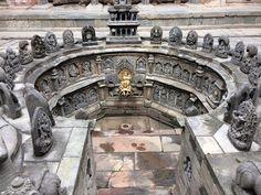 Royal bath of Patan royal place is a wonderful architect of Malla king.