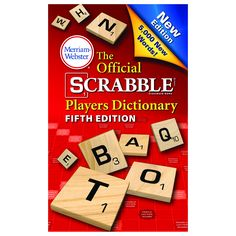 OFFICIAL SCRABBLE PLAYER DICTIONARY