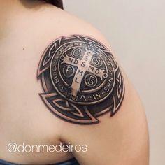 Medalha de São Bento. #St.Benedict #religious