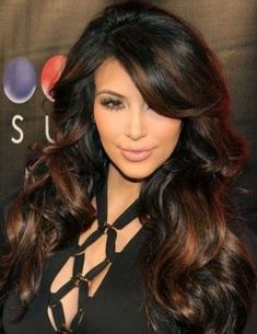 Balayage Blonde Ends - 20 Fabulous Brown Hair with Blonde Highlights Looks to Love - The Trending Hairstyle Long Hair With Bangs, Short Hair Updo, Long Hair Cuts, Wavey Hair, Thick Hair, Black Hair With Highlights, Hair Highlights, Chocolate Highlights, Chocolate Color