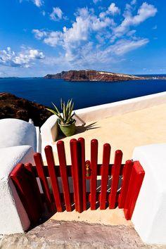 Santorini island, Greece. I like the view!