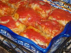 Cabbage Rolls :http://www.mrshappyhomemaker.com/2010/09/cabbage-rolls/