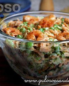 Salada de Salsão com Molho de Iogurte