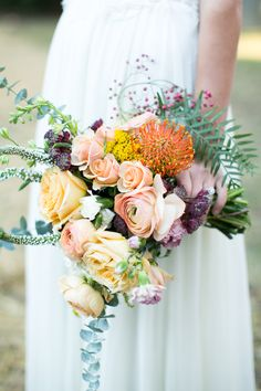 Modern, Organic Tennessee Wedding | A unique wedding with an earthy truth only found in Tennessee, but permeated by class and poise. A personal touch was placed on everything from the handmade mixtapes to the groom's boutonniere. Inspiration for organic bouquet, wedding flowers, floral arrangement, and modern wedding | #wedding #weddingflorals #floral #bride #weddings #weddingdress #organicbouquet #weddingbouquet