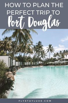This Port Douglas Australia Travel Guide features everything you need to know to plan your itinerary. The best things to do - visiting the Great Barrier Reef, Daintree Rainforest, Sugar Wharf, Four Mile Beach and much more. This article also includes a list of the best Port Douglas restaurants, accommodation, the drool-worthy Sheraton Mirage Resort and how to get from Cairns to Port Douglas. #australia #greatbarrierreef #travel #destinations #queensland #australiatravel #oceania… Beautiful Places To Visit, Cool Places To Visit, Travel Guides, Travel Tips, Travel Abroad, Top Travel Destinations, Pacific Destinations, New Zealand Travel Guide, Daintree Rainforest
