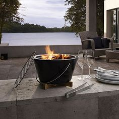 Table Grill - like fondue, but with a grill! Fun!