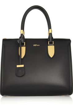 Alexander McQueen | The Heroine leather tote | NET-A-PORTER.COM