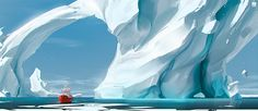 Iceberg on Behance