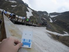 The sweetest climber in the world.  Mt. Baekdu / North Korea