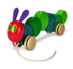 The Very Hungry Caterpillar- classic toy for a classic story! #toys