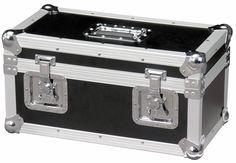 Flight case pour 12 microphones filaires et leur câble et accessoires