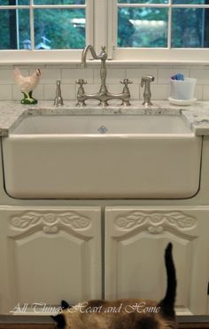 adding a farm sink to existing cabinets - Budget Kitchen Sinks
